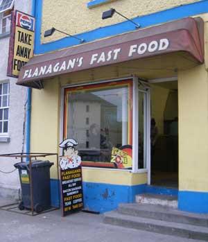 Flanagan's Fast Food in Ballymahon