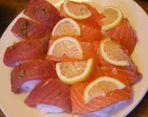 irish sushi - lightholder style