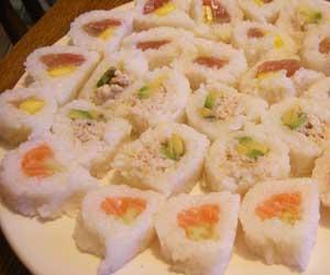 irish sushi rolls - lightholder style