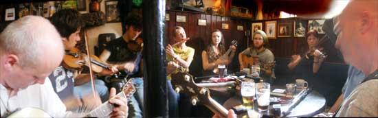 Sean's Bar sunday Session athlone