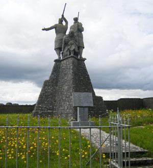IRA statue in Roscommon