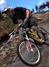 Chris Kilmurray downhill mountain biking in ireland