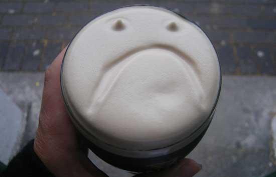 beamish, beer head, beer head art, Craíc, dry stout, face in a pint, guinness, irish pub art, irish stout, milk stout, murphy's, face in a pint friday