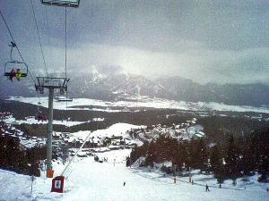 Ski resort Spain