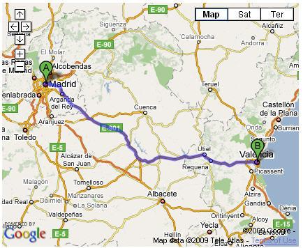 map-madrid-to-valencia