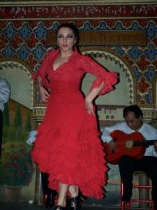 red flamenco