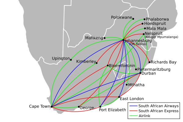 SAA Routes