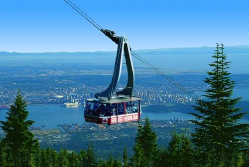 Grouse Mountain gondola