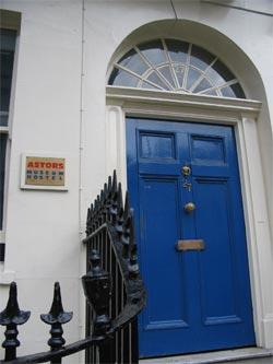 Astor museum door