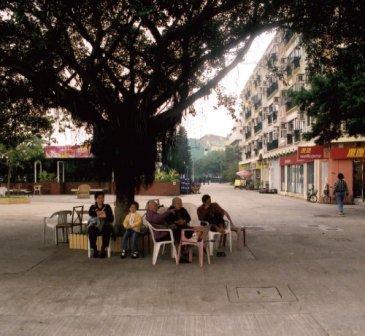 Peng Chau Island Near the Ferry Terminal