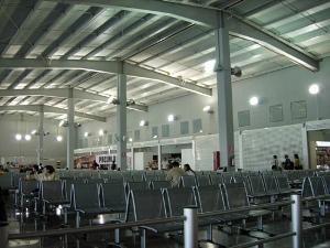 Toluca Airport -waiting room