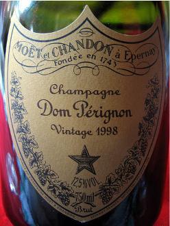 Dom Perignon bottle 750 ml