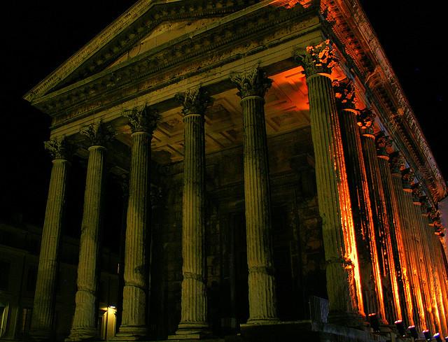 roman ruins france
