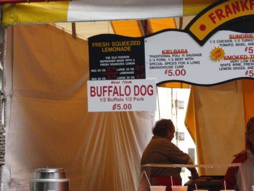 Buffalo dog??