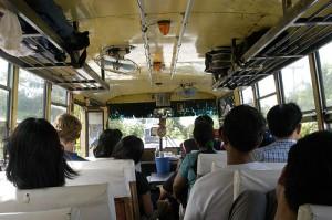 thailand bus travel
