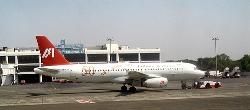 Airplane at Mumbai Airport