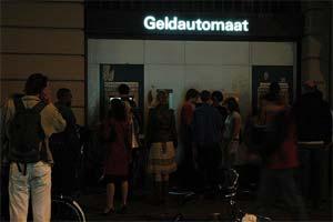 Night ATM Amsterdam