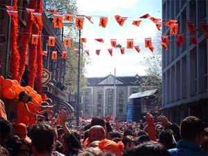 Queen's Day street