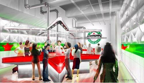 Heineken sneak 2