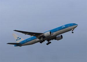 KLM climbing