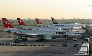 NWA planes