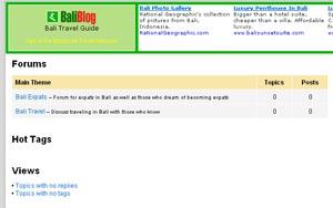 Baliblog Forums