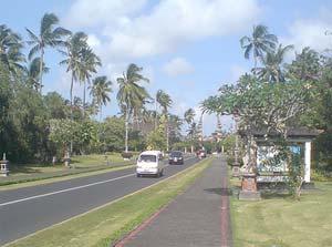 Nusa Dua streets