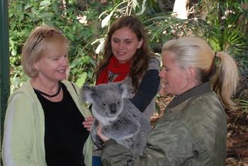 Lone Pine Koala Snuggle 2