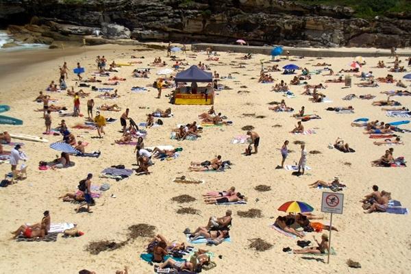 tamarama beach people