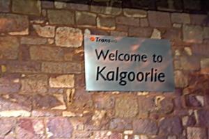welcome to kalgoorlie