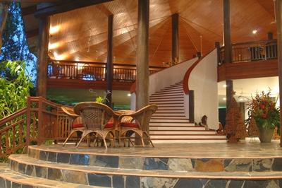 thala beach lodge lobby